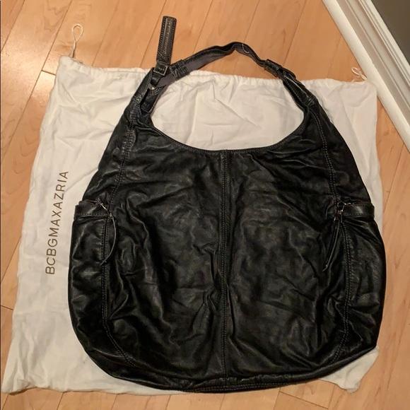 Big soft leather BCBG purse